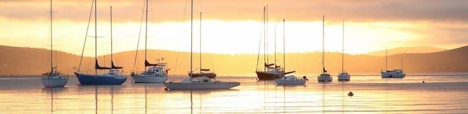 Hobart at Dawn | Tourism Tasmania | Gabi Mocatta